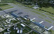 Flygplats 02 Chengdu Shuanglius internationella flygplats 3d model