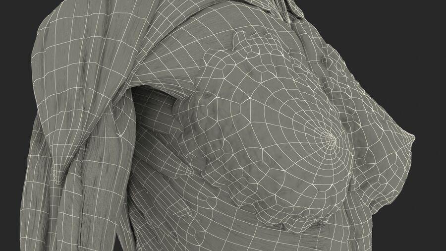 Volledige anatomie van het vrouwelijk lichaam royalty-free 3d model - Preview no. 67