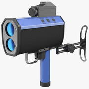Лазерная пушка движения 3d model