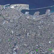 Bejrut - miasto 3d model