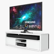 Living Room TV Cabinet with Storage 3d model
