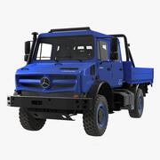 Mercedes Benz Unimog 4023 Off Road Aracı 3d model