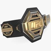 Cinto de campeão do UFC 3d model