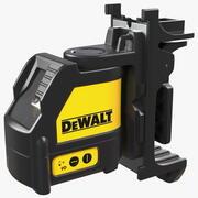 Poziom lasera krzyżowego Dewalt DW088K 3d model