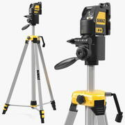 Kit livella laser a linee incrociate DW088K DeWalt 3d model