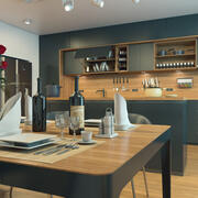 Wnętrze kuchni 3 3d model