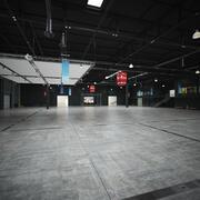 Hall de exibição 3d model