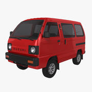 Suzuki Carry 1987 3d model
