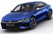 Volkswagen Arteon R and Elegance 2021 3d model