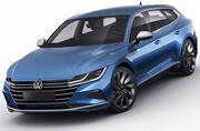 Volkswagen Arteon Shooting Brake R and Elegance 2021 3d model