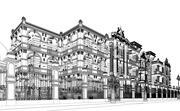 经典建筑宫殿 3d model