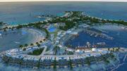 Villa avec vue sur la mer à Dubaï 3d model