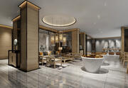 Lobby Space Collection 62 4 i 1 3d model