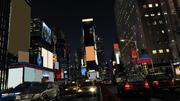 Times Square fbx 3d model