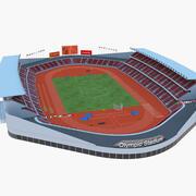 奥林匹克体育馆 3d model