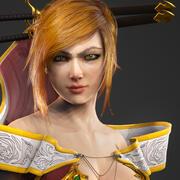忍ゲーム対応キャラクター 3d model