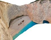 Plaża wrakowa 3d model