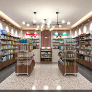 Pharmacy Healthcare Cosmetic Store 3d model