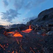 Volcanic Eruption PBR 3d model
