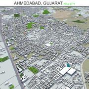 Ahmedabad City w Gujarat w Indiach 3d model