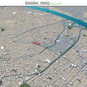 Basra City Iraq 3d model