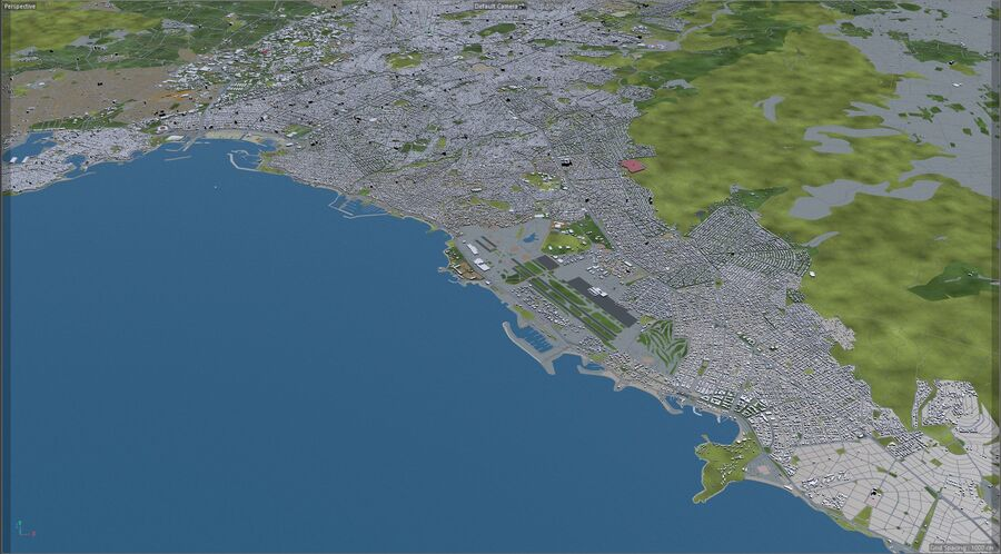 Athens City Greece royalty-free 3d model - Preview no. 21