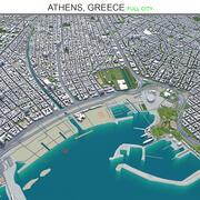 Athens City Yunanistan 3d model