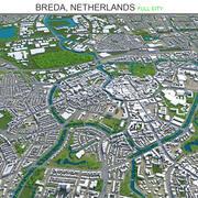 オランダブレダ市 3d model