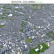 Bogota Capital of Colombia 3d model