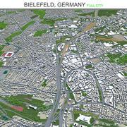 Билефельд, Германия 3d model