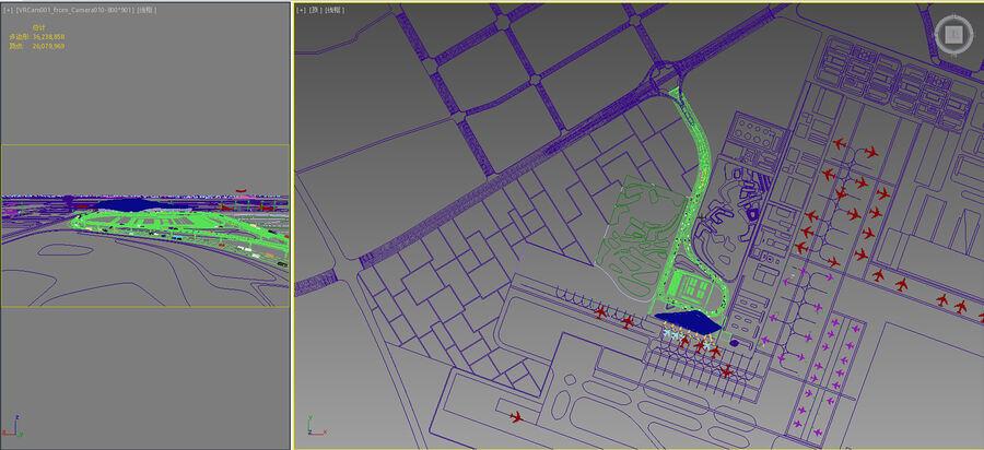 Aeropuerto royalty-free modelo 3d - Preview no. 8