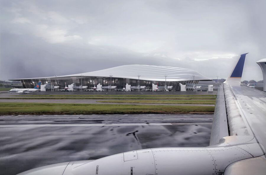 Aeropuerto royalty-free modelo 3d - Preview no. 3