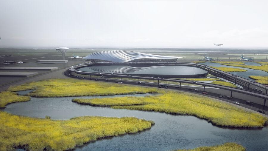 Aeropuerto royalty-free modelo 3d - Preview no. 2