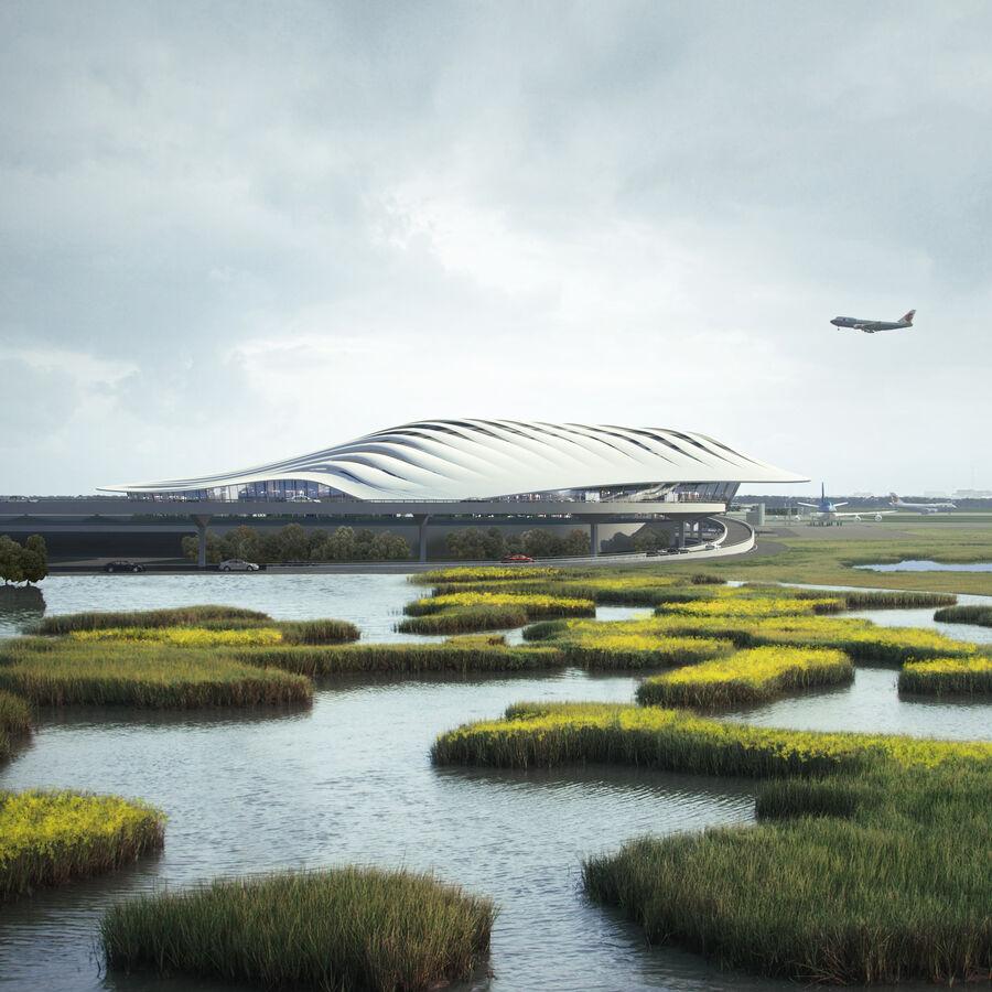 Aeropuerto royalty-free modelo 3d - Preview no. 5