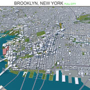 Brooklyn City New York 3d model