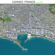 Cannes City we Francji 3d model