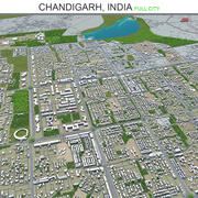 Chandigarh City India 3d model