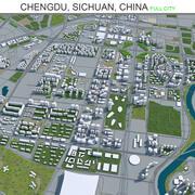 Chengdu w Syczuanie w Chinach 3d model