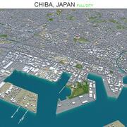 Chiba City Japonya 3d model