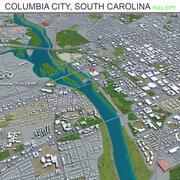 Колумбия-Сити Южная Каролина 3d model
