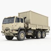M1085 konteyner kamyonu 3d model