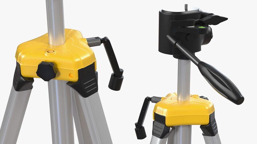 Statyw z samopoziomującym statywem laserowym Dewalt royalty-free 3d model - Preview no. 10