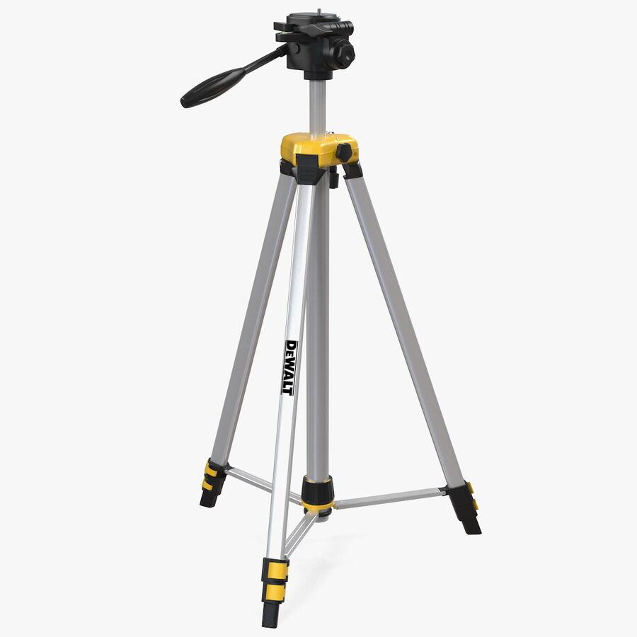 Statyw z samopoziomującym statywem laserowym Dewalt royalty-free 3d model - Preview no. 1