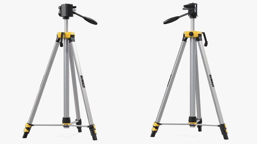 Statyw z samopoziomującym statywem laserowym Dewalt royalty-free 3d model - Preview no. 8
