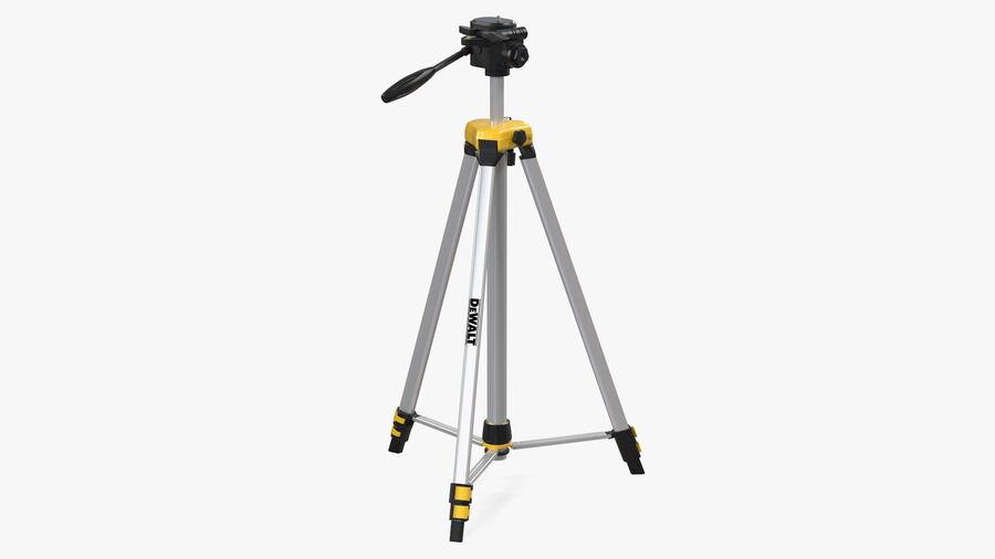 Statyw z samopoziomującym statywem laserowym Dewalt royalty-free 3d model - Preview no. 2
