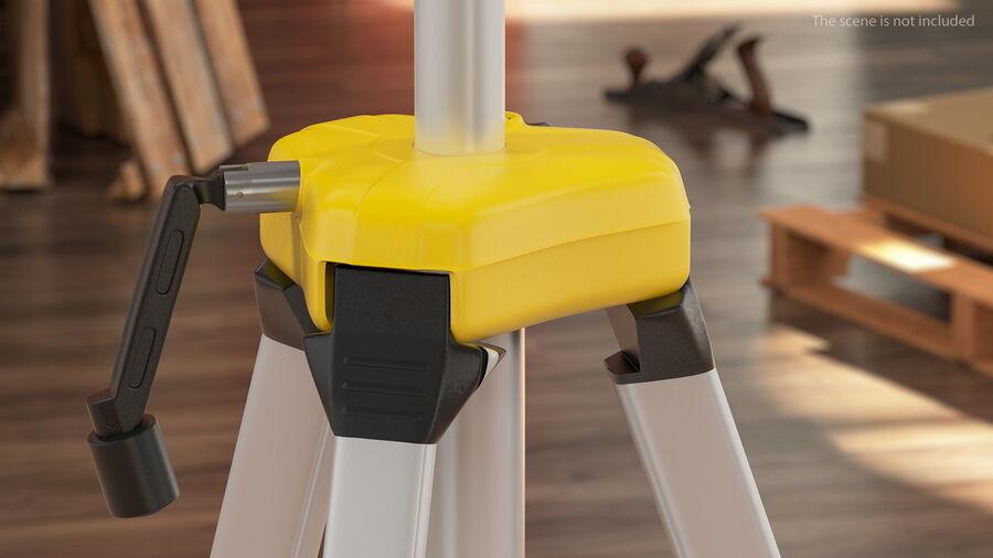 Statyw z samopoziomującym statywem laserowym Dewalt royalty-free 3d model - Preview no. 5