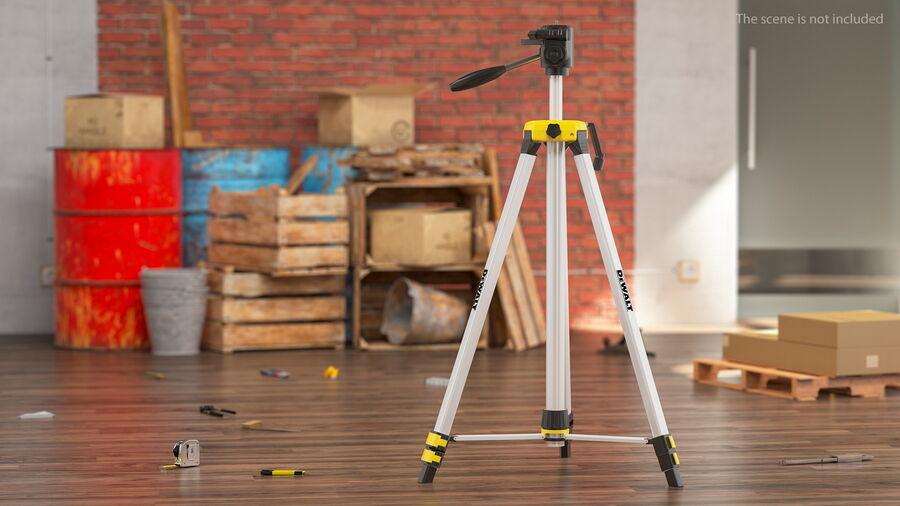 Statyw z samopoziomującym statywem laserowym Dewalt royalty-free 3d model - Preview no. 3