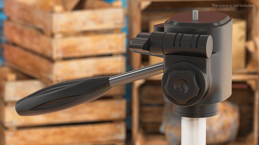Statyw z samopoziomującym statywem laserowym Dewalt royalty-free 3d model - Preview no. 4