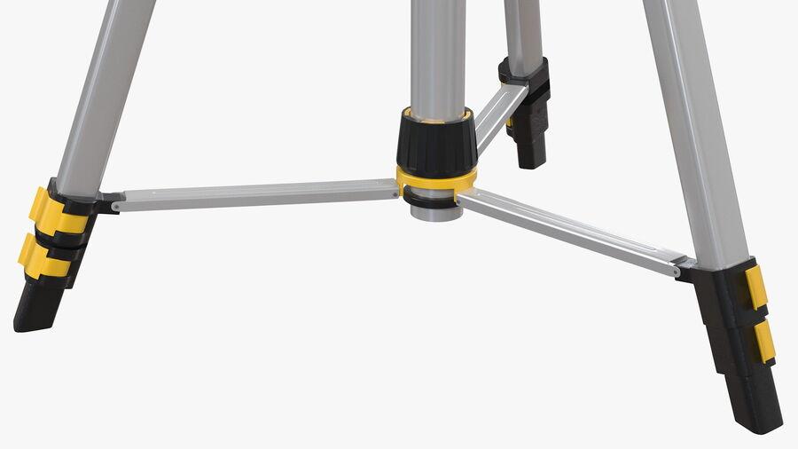 Statyw z samopoziomującym statywem laserowym Dewalt royalty-free 3d model - Preview no. 11