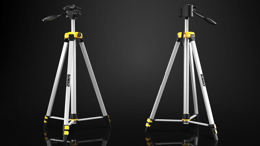 Statyw z samopoziomującym statywem laserowym Dewalt royalty-free 3d model - Preview no. 7